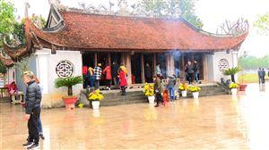 Đền Lăng Sương - điểm đến văn hóa tâm linh hấp dẫn du khách