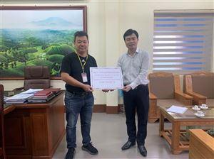 Uỷ ban MTTQ huyện Thanh Thủy đã tiếp nhận hơn 330 triệu đồng ủng hộ nhân dân các tỉnh miền Trung