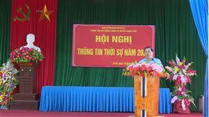 Hội nghị thông tin thời sự năm 2020 tại 2 xã Đồng Trung và Tu Vũ