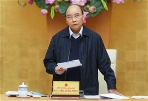 Thủ tướng chỉ thị tiếp tục các biện pháp phòng, chống dịch COVID-19 trong tình hình mới