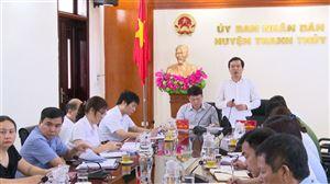 Thanh Thủy tổ chức hội nghị trực tuyến triển khai công tác chuẩn bị tổ chức Đại hội Đảng bộ huyện...