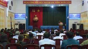 Thanh Thủy bồi dưỡng lý luận tác chiến khu vực phòng thủ huyện năm 2017