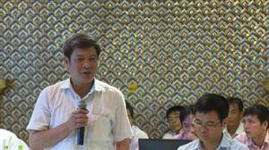 Hội nghị lấy ý kiến điều chỉnh chi tiết dự án Khu du lịch, biệt thự sinh thái nghỉ dưỡng Vườn Vua
