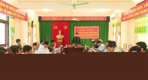 Hồi đồng nghĩa vụ quân sự huyện triển khai nhiệm vụ tuyển chọn gọi công dân nhập ngũ năm 2018