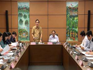 Thảo luận tại tổ vào dự án Luật Quốc phòng (sửa đổi) và Nghị quyết về cơ chế, chính sách phát triển Thành phố Hồ Chí Minh