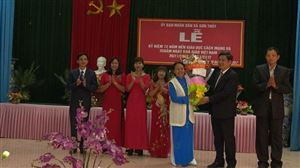 Thanh Thủy tổ chức kỷ niệm 72 năm nền giáo dục cách mạng, 35 năm ngày Nhà giáo Việt Nam 20/11