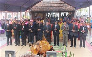Thanh Thủy tổ chức lễ giỗ Thánh Mẫu Đền Lăng Sương năm 2017