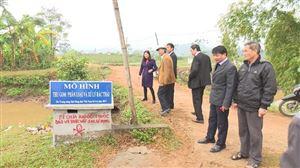 Hội Nông dân tỉnh Phú Thọ tổ chức hội nghị nghiệm thu mô hình thu gom phân loại, xử lý rác thải sinh hoạt và bao bì thuốc BVTV