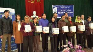 Điện lực Thanh Thủy tổ chức chương trình Trao niềm tin, gửi yêu thương tại xã Đào Xá