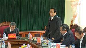 Huyện ủy Thanh Thủy kiểm điểm tập thể, cá nhân Ban Thường vụ năm 2017
