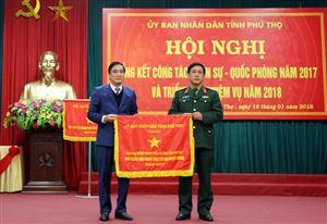 Tập trung xây dựng lực lượng vũ trang tỉnh tinh nhuệ, vững mạnh