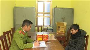 Công an huyện Thanh Thủy bắt giữ các đối tượng trộm cắp xe máy, mua bán Ma túy và pháo nổ
