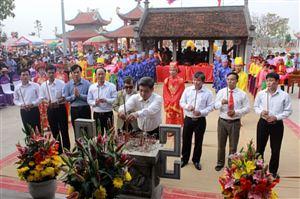 Lễ hội truyền thống Đền Lăng Sương năm 2018
