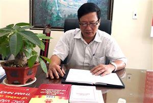 Nguyễn Anh Tuấn - Người có nhiều cống hiến cho Ngành Kiểm tra Đảng của huyện Thanh Thủy