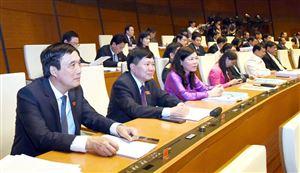 Đoàn ĐBQH tỉnh tham dự kỳ họp thứ 5, Quốc hội khóa XIV
