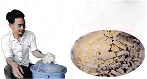 Măng giã chua - món ăn độc đáo của người Mường Phượng Mao