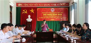 Hội nghị giao ban các Hội đặc thù tỉnh