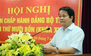 Hội nghị Ban chấp hành Đảng bộ tỉnh lần thứ mười bốn, khóa XVIII