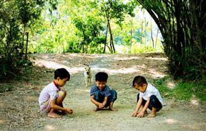 Hè của trẻ em nông thôn
