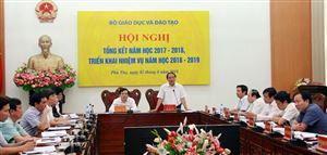Tổng kết năm học 2017-2018, triển khai nhiệm vụ năm học 2018 – 2019