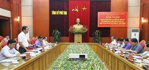 Đoàn công tác của Ban chỉ đạo Trung ương về phòng, chống tham nhũng làm việc tại tỉnh