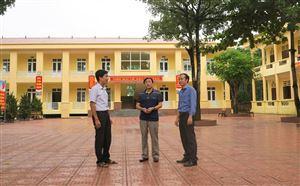 Xây dựng trường đạt chuẩn quốc gia ở Thanh Thủy