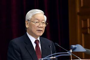 100% đại biểu tín nhiệm giới thiệu Tổng Bí thư Nguyễn Phú Trọng để Quốc hội bầu làm Chủ tịch nước