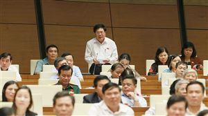 Quốc hội tiến hành chất vấn và trả lời chất vấn