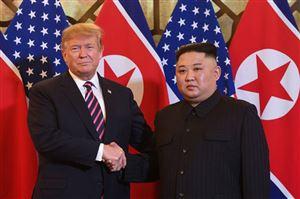 Những hình ảnh ấn tượng trong cuộc gặp của lãnh đạo Mỹ - Triều tại Hà Nội