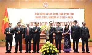 HĐND tỉnh họp bất thường bầu chức vụ Chủ tịch HĐND tỉnh, Chủ tịch UBND tỉnh nhiệm kỳ 2016 - 2021