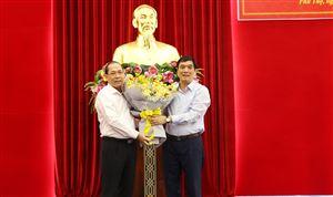 Đồng chí Hoàng Công Thủy trúng cử chức danh Phó Bí thư Tỉnh ủy nhiệm kỳ 2015-2020 với phiếu tín nhiệm đạt 100%