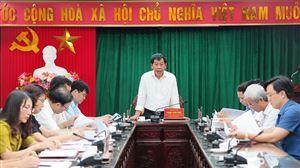 Thẩm tra các báo cáo, tờ trình, dự thảo Nghị quyết trình tại Kỳ họp thứ Tám, HĐND tỉnh