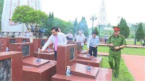 Huyện Thanh Thuỷ tổ chức viếng Nghĩa trang Liệt sỹ Mặt trận Tu Vũ, Nhà bia tưởng niệm ghi tên liệt sỹ, Mẹ VNAH