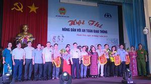 Hội Nông dân - Ban ATGT huyện tổ chức Hội thi nông dân với ATGT