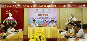 """Tọa đàm: Tư tưởng Hồ Chí Minh về """"Học tập suốt đời, xây dựng xã hội học tập"""""""