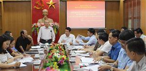 Đoàn khảo sát của Ban Tuyên giáo Trung ương làm việc tại tỉnh