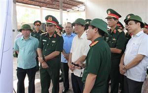 Kiểm tra công tác chuẩn bị diễn tập Khu vực phòng thủ tỉnh, năm 2019