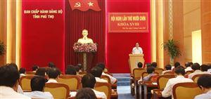 Hội nghị Ban Chấp hành Đảng bộ tỉnh lần thứ 19, khoá XVIII
