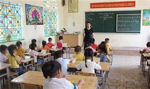 Trường Tiểu học Đoan Hạ  nâng cao chất lượng giảng dạy