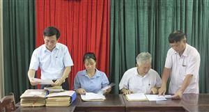 Đảng bộ huyện Thanh Thủy  chú trọng công tác kiểm tra, giám sát