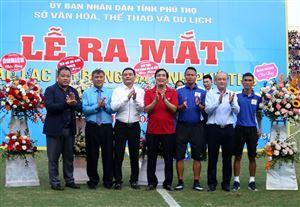 Ra mắt CLB Bóng đá Tuấn Tú Phú Thọ