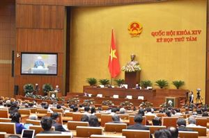 Quốc hội tiến hành công tác nhân sự