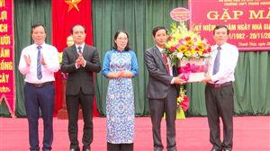Các địa phương gặp mặt kỷ niệm 38 năm Ngày Nhà giáo Việt Nam