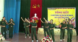 Tổng kết 10 năm thành lập và xây dựng câu lạc bộ Dân ca xã Đào Xá