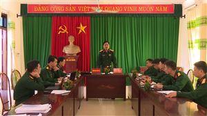 Bộ Chỉ huy Quân sự tỉnh kiểm tra kết quả thực hiện Đề án 515 về lập bản đồ tìm kiếm, quy tập hài cốt liệt sĩ tại Thanh Thủy