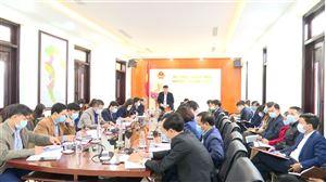 Huyện Thanh Thủy tổ chức họp trực tuyến triển khai nhiệm vụ tháng 2/2021