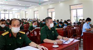 Hội CCB huyện tổ chức hội nghị tập huấn công tác Hội năm 2021