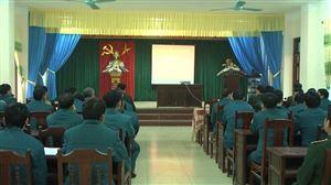 Tập huấn cán bộ dân quân tự vệ năm 2018
