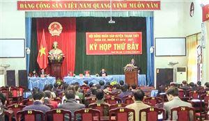 Khai mạc kỳ họp thứ Bảy, HĐND huyện Thanh Thủy khoá XIX nhiệm kỳ 2016-2021