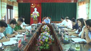 Hội nghị BTV Huyện ủy Thanh Thủy thường kỳ tháng 8 năm 2019